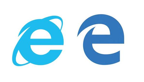 Internet Explorer og Edge logo